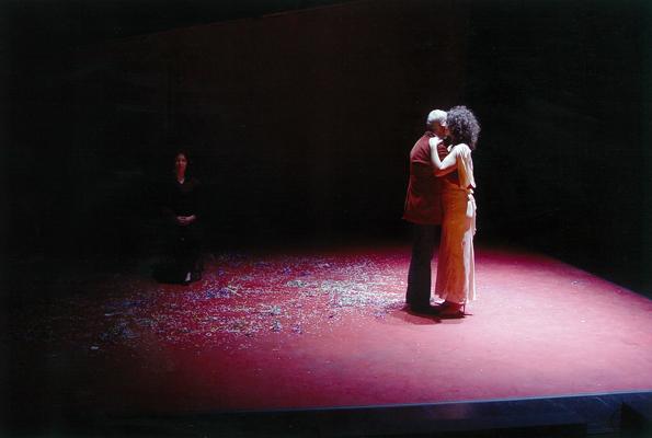 Carlos Medeiros et Sophie Balabanian.