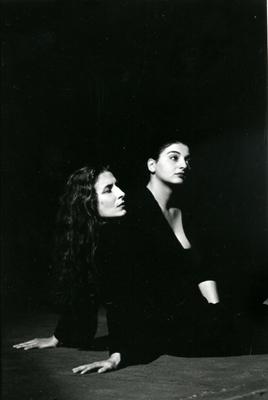 Marie-Laure Denoyel et Sophie Balabanian. © Carlos Medeiros